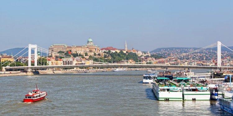 The Danube River, Budapest