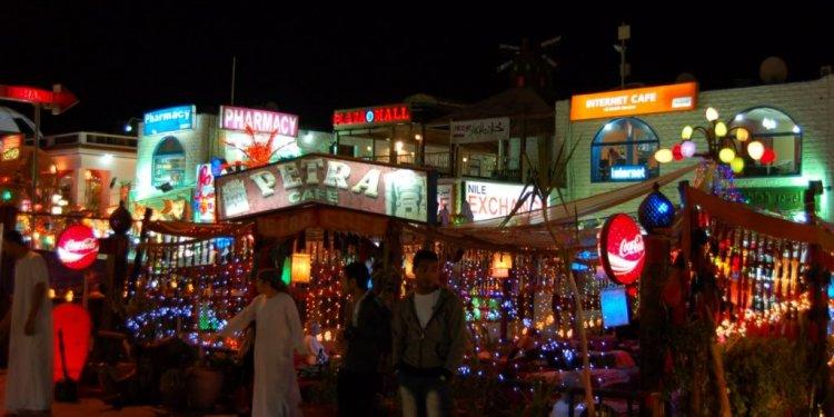 Egypt attraction, bars