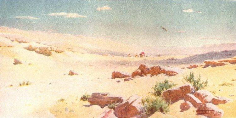 Egypt-in-a-barren-dry-land