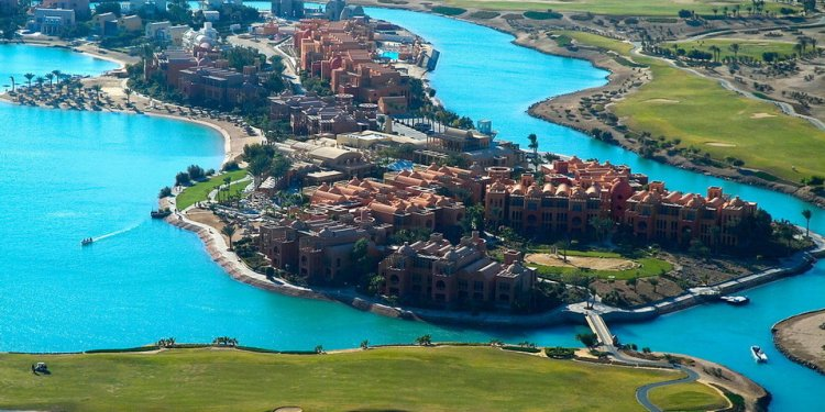 El Gouna, Egypt With sandy