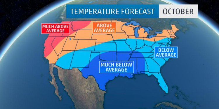 October Temperature Outlook