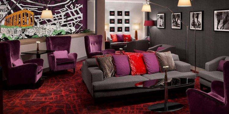 Radisson Blu, Edinburgh lounge
