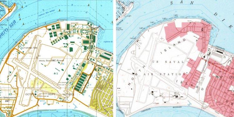 San Diego naval facilities