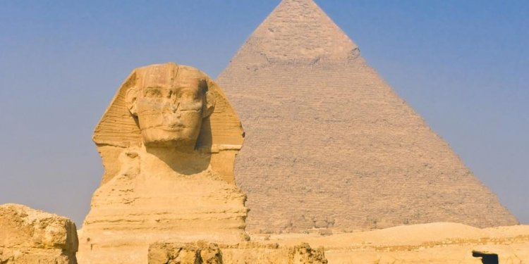 The historic country: Egypt