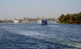 various cruise ships nevertheless just take some tourists on lazy trips along the Nile.