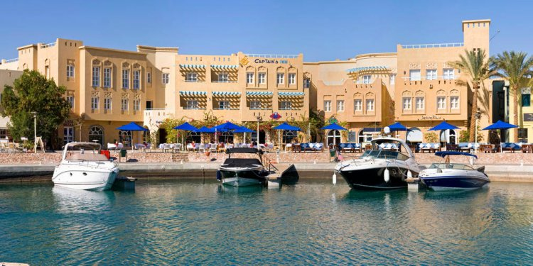 El Gouna Egypt Map