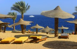 Ritz-Carlton resort, Sharm El Sheikh, Egypt