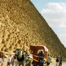 The pyramids draw tourists from around the entire world.